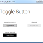Toggle Button JMetro light theme for Java (JavaFX). Inspired by Microsoft Fluent Design System.