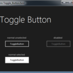 Toggle Button JMetro dark theme for Java (JavaFX). Inspired by Microsoft Fluent Design System.